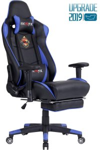Ficmax Ergonomic Massage Gaming Chair Reclining Racing Office Chair High Back
