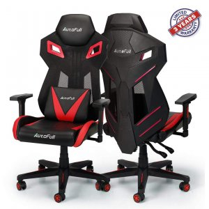 AutoFull Gaming Chair - Video Game Chairs Mesh Ergonomic High Back Racing Style Computer Chair