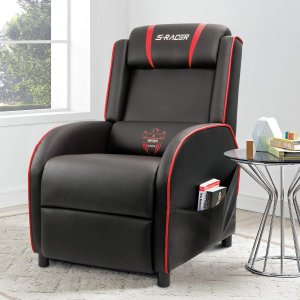 Homall Gaming Recliner Chair Single Living Room Sofa Recliner