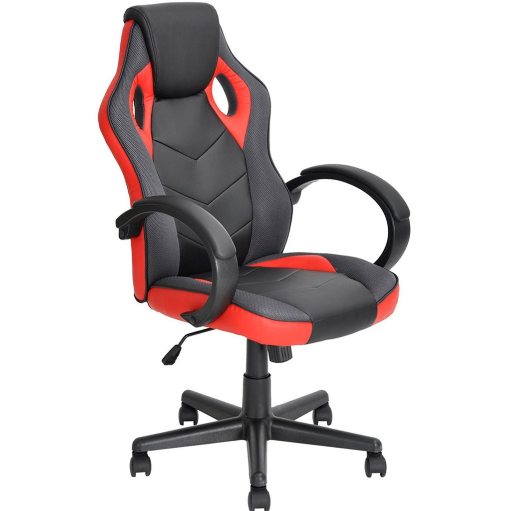 Coavas Gaming Chair Office Desk Chair High Back Ergonomic Game Racing Chair