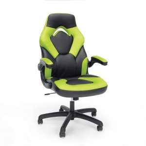 OFM Essentials Collection Racing Style Bonded Leather Gaming Chair