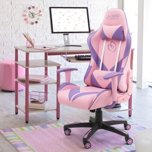 Homall Gaming Chair Girl Racing Office Chair