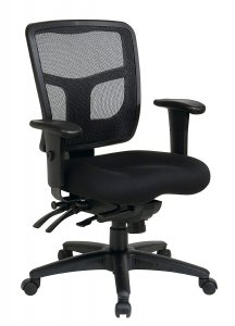 Office Star Mid Back ProGrid Back FreeFlex Seat with
